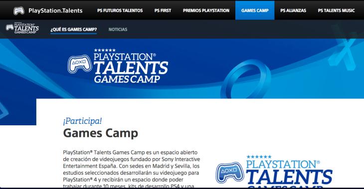 PlayStation y Lanzadera colaboran en el fomento de la creación de videojuegos