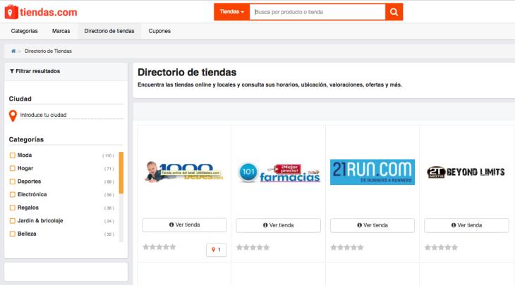 Tiendas.com pone el foco en el comercio local