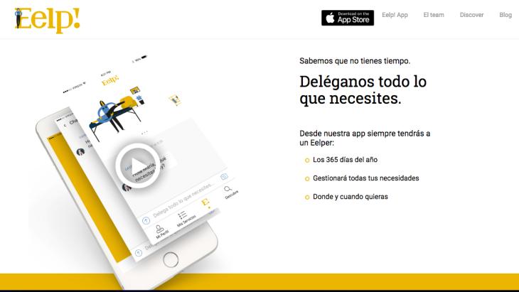200.000 euros de inversión en la startup Eelp!