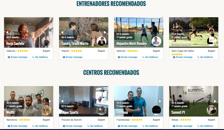 405.000 euros de inversión en la startup Entrenarme