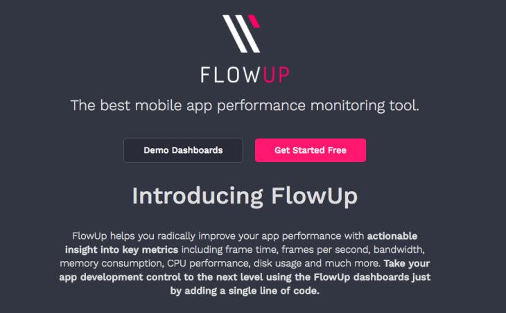 FlowUp ayuda a mejorar el rendimiento y funcionamiento de las apps