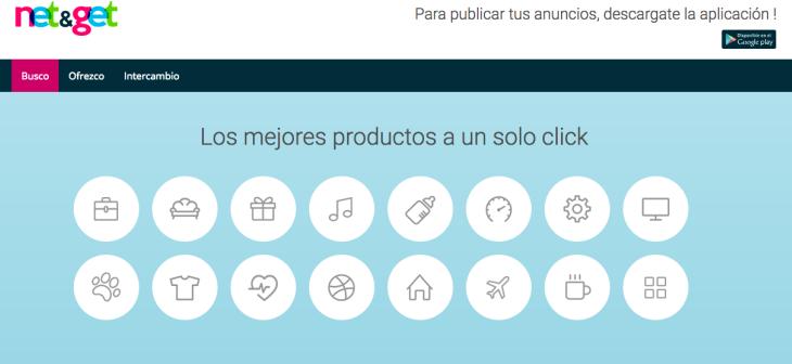 Net&Get un nuevo marketplace que incorpora la opción de cupones