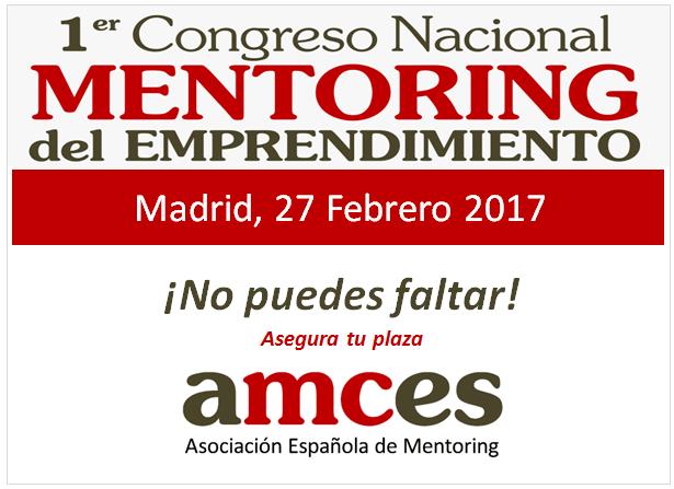 AMCES organiza el 1er Congreso de Mentoring en España