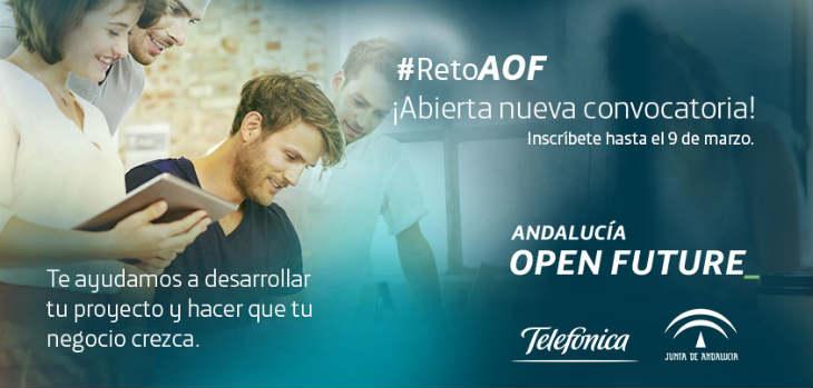 Andalucía Open Future busca las mejores startups para sus tres centros de crowdworking