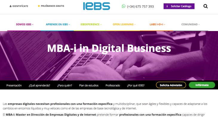Acuerdo entre IEBS y BBVA para fomentar el emprendimiento