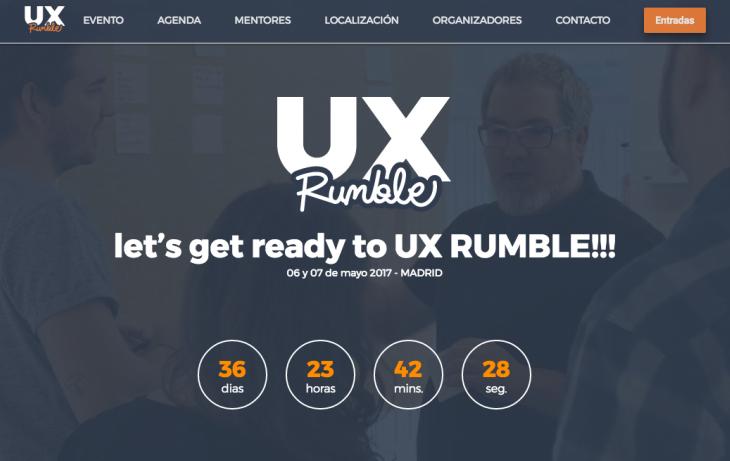 Si te interesa la usabilidad querrás participar en UX Rumble