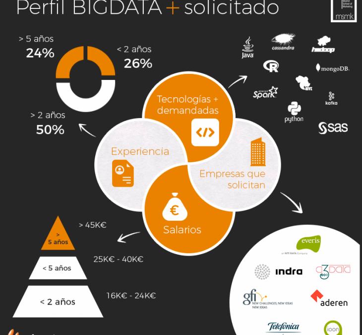 Se buscan profesionales de Big Data