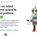Politibot utiliza la inteligencia artificial para mejorar la transparencia en la política
