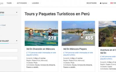 500.000 dólares de inversión en la startup peruana Turismoi