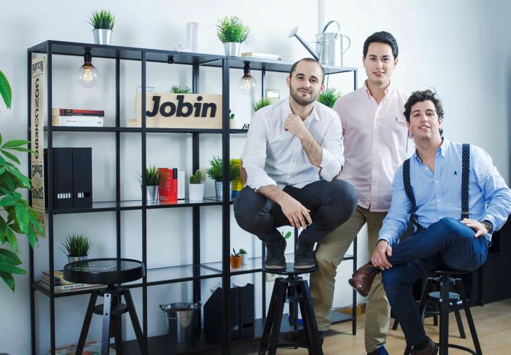 380.000 euros de inversión en la startup Jobin