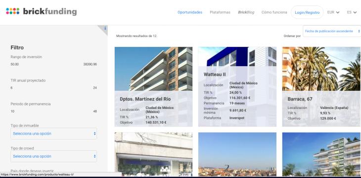 Descubre el agregador de crowdfunding inmobiliario BrickFunding