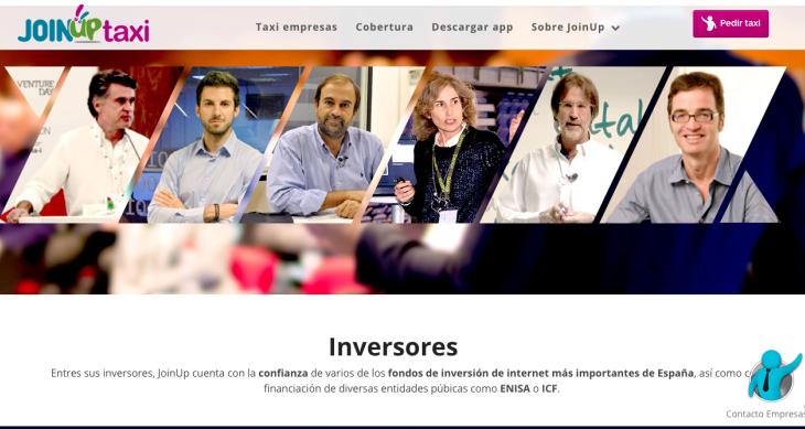 430.00 euros de inversión en la startup JoinUp