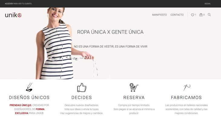 Unikr traslada al sector de la moda el modelo de la autopublicación de libros