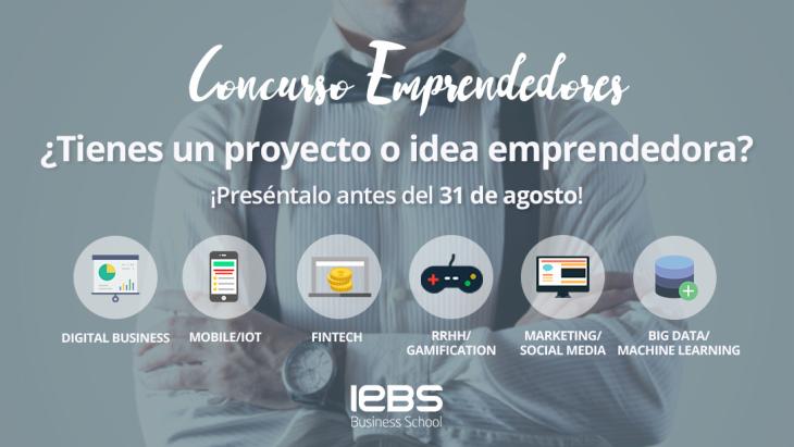 Concurso de Emprendedores de IEBS para impulsar innovación entre las Startups