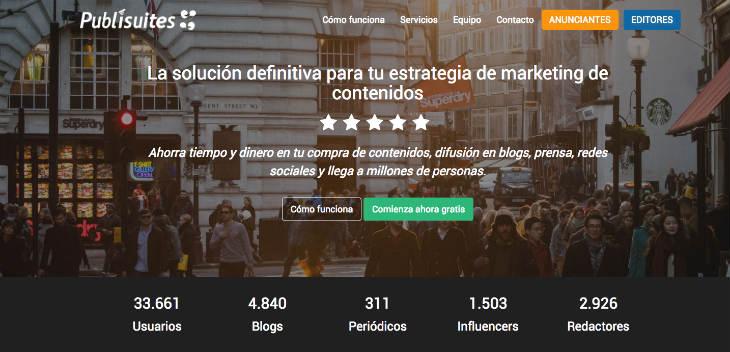 Publisuites estrena plataforma para ser referente en la estrategia de marketing de contenidos