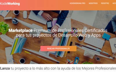 Descubre el proyecto KodeWorking