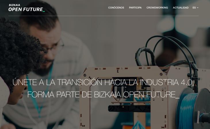 Los retos de Bizkaia Open Future_ para la industria 4.0