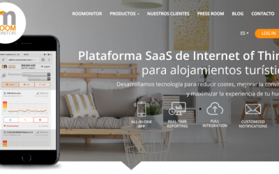 650.000 euros de inversión en Roomonitor