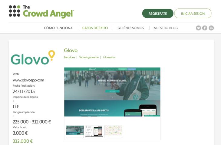 Glovo y el primer exit del equity crowdfunding en España