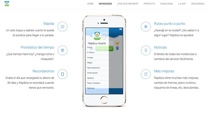 Descubre la app Rapibús