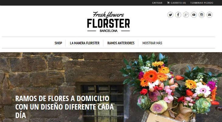 Florster, una floristería online con toque local