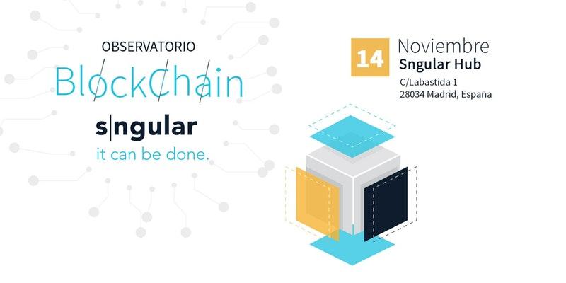 Presentación del Observatorio Blockchain