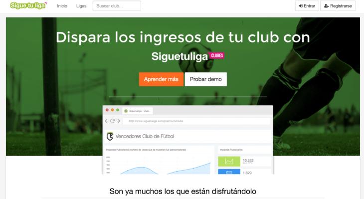 135.000 euros de inversión en la web Siguetuliga