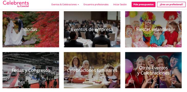 400.000 euros de inversión en el marketplace Celebrents