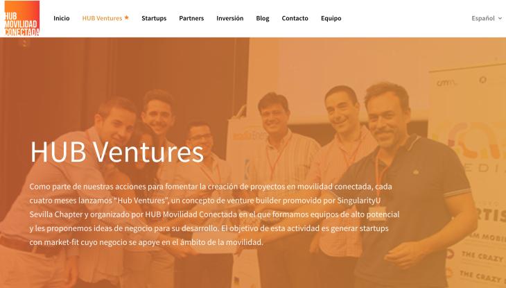Puesta en marcha del programa de aceleración Hub Ventures