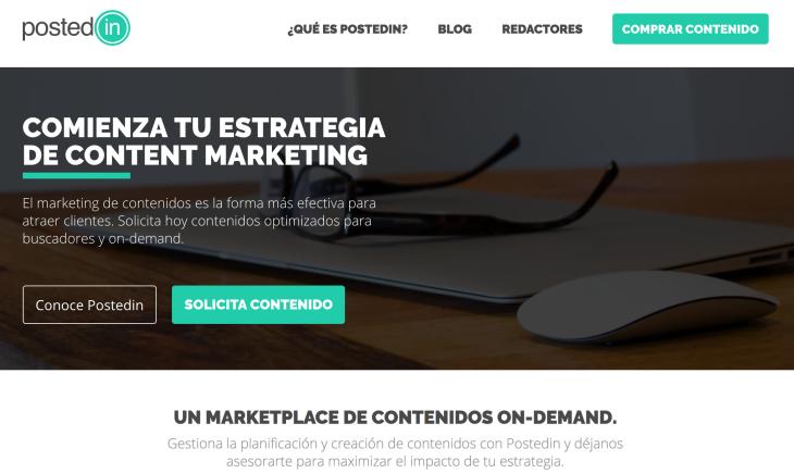 Postedin y el márketing de contenidos
