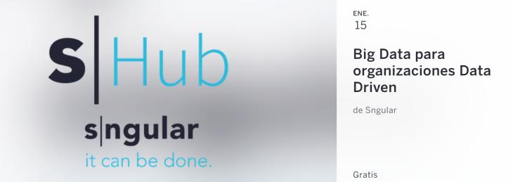 Descubre las claves del Big Data el 15 de enero en Madrid
