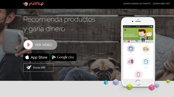 595.000 euros de inversión en la startup Fulltip