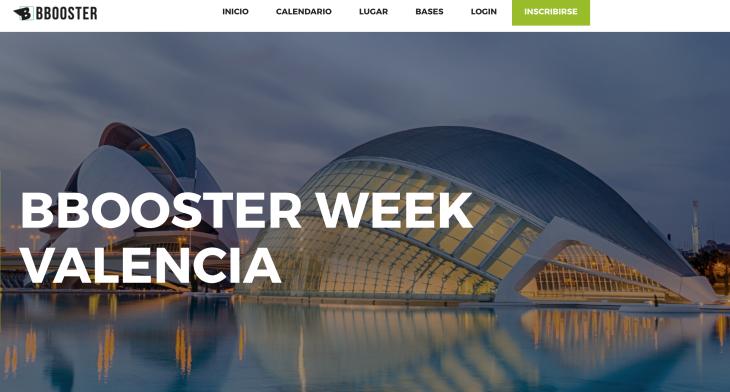 La próxima Bbooster Week será en Valencia