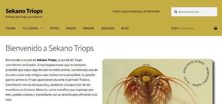 Comercios electrónicos de (súper) nicho: caso Sekano Triops