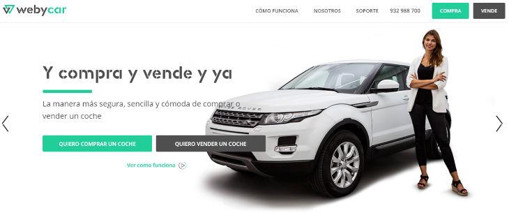 Webycar, comprar y vender coches online