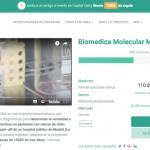 Biomedica Molecular Medicine en campaña de equity crowdfunding