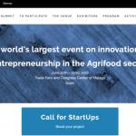 Si tienes una startup de Agroalimentación te interesará participar en este evento