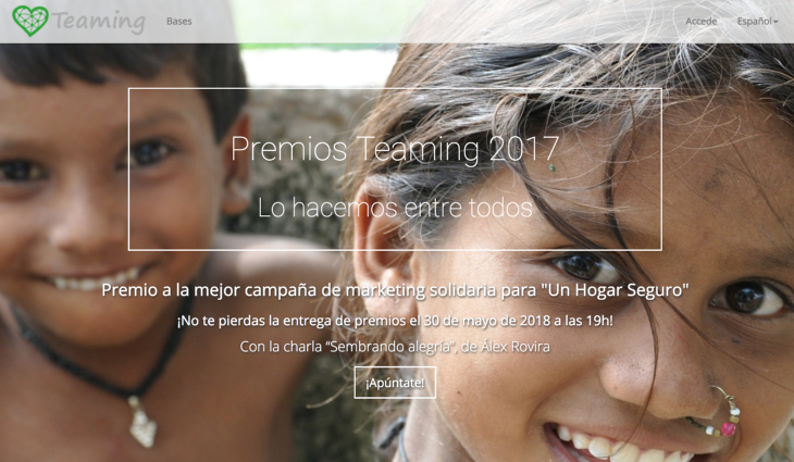 Premios Teaming 2017