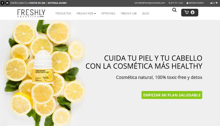 Freshly Cosmetics, del laboratorio a tu casa