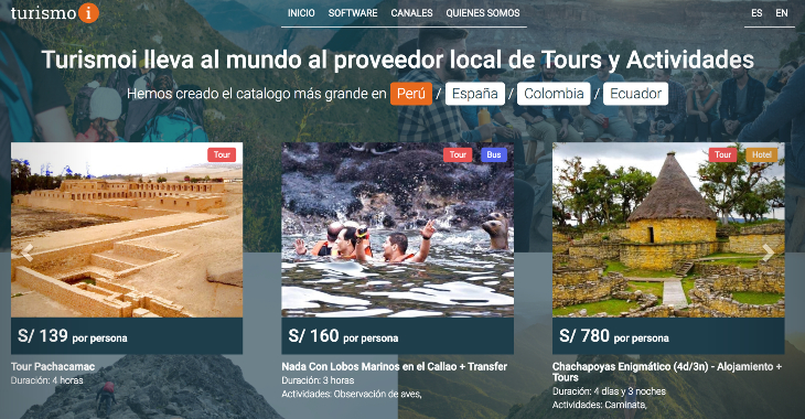Axon Partners Group y Top Seeds Lab invierten en la startup Turismoi