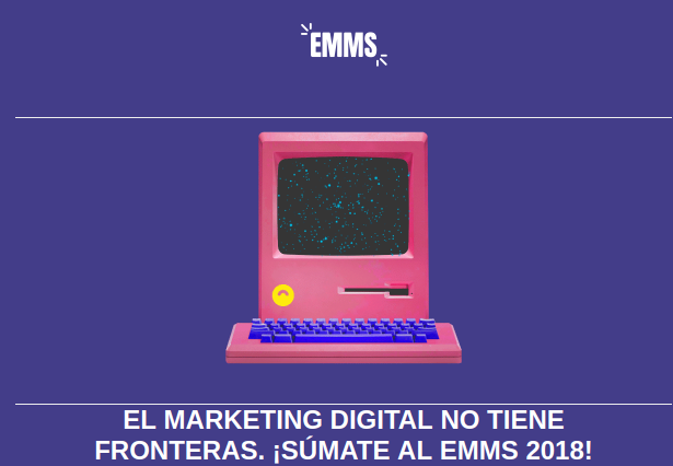 Evento EMMS, aprende gratis marketing online