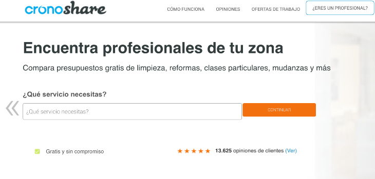 Cronoshare compra ReformaAyuda