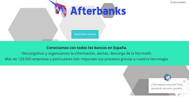 360.000 euros de inversión en el agregador bancario Afterbanks