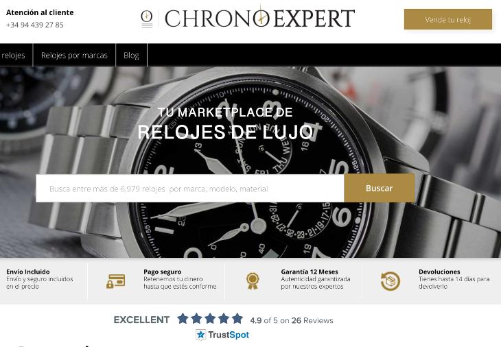 800.000 euros de inversión en  Chronoexpert