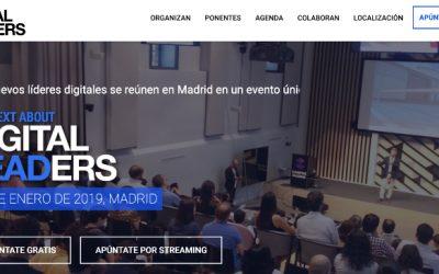 Evento The Next About Digital Leaders el 17 de enero en Madrid