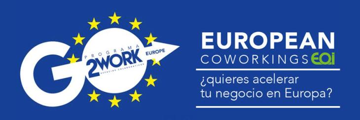 Nueva convocatoria del programa de aceleración European Coworkings