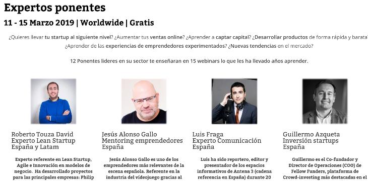 Participa en la Semana de las Startups
