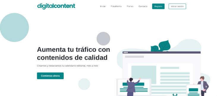 Digital Content, nueva plataforma para la creación de contenidos