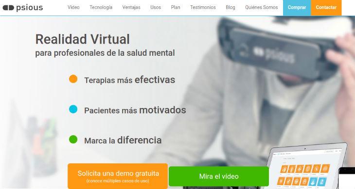 Psious, la empresa de realidad virtual, cierra una ronda de financiación de 8 millones de euros