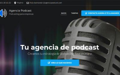 AgenciaPodcast.com, podcasting para empresas llave en mano